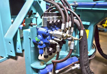 Maquinaria Valero - Detalle maquinaria