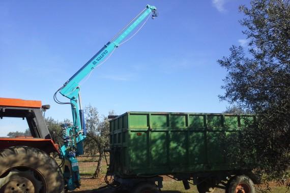 Maquinaria Valero - Pluma Cargadora
